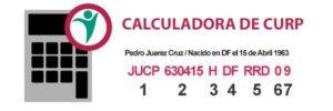 Calcular CURP